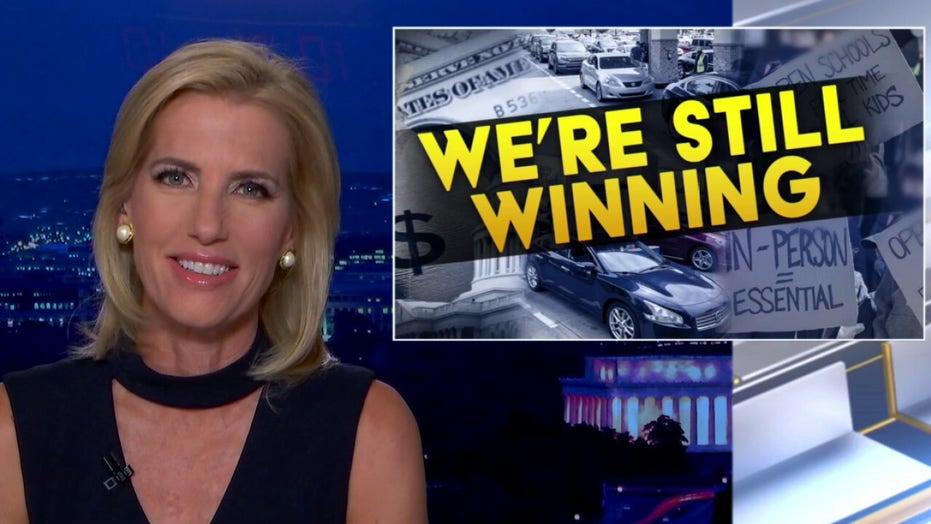 Ingraham: Democrats are 'slowly but surely' destroying 2022, 2024 election prospects