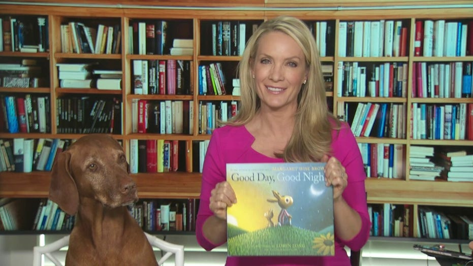 Dana reads 'Rusty and the Pot of Gold' and 'Good Day, Good Night'