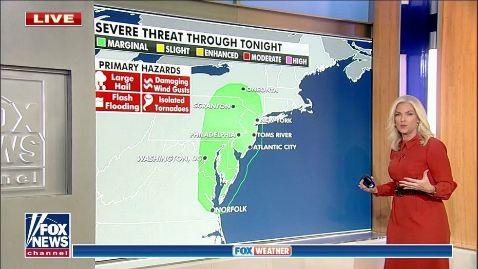 Cold front brings potential flooding to East, Tropical Storm Sam expected to form in Atlantic