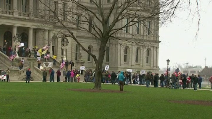 State protests continue amid growing frustration over stay-at-home orders