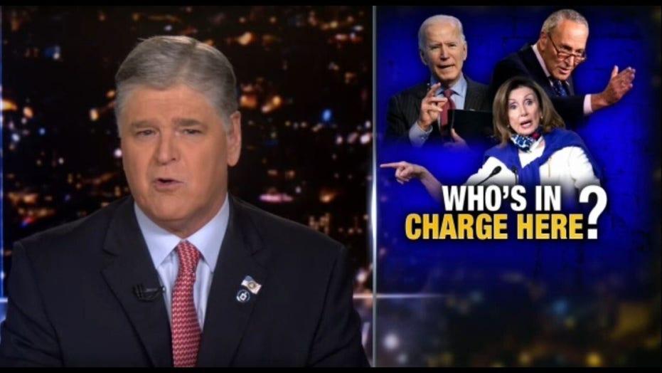 Sean Hannity blasts Biden's speech; it was addressed to his 'radical, socialist base'