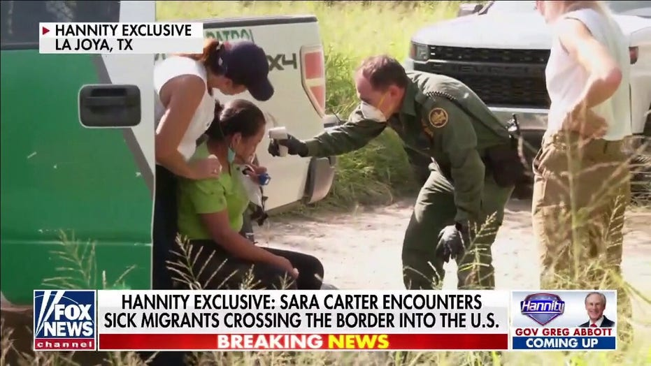 Hannity exclusive: Sara Carter encounters sick migrants crossing border into US