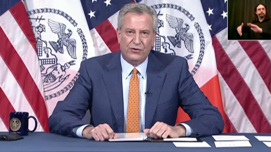 NYC mayor warns of multi-billion dollar deficit amid pandemic