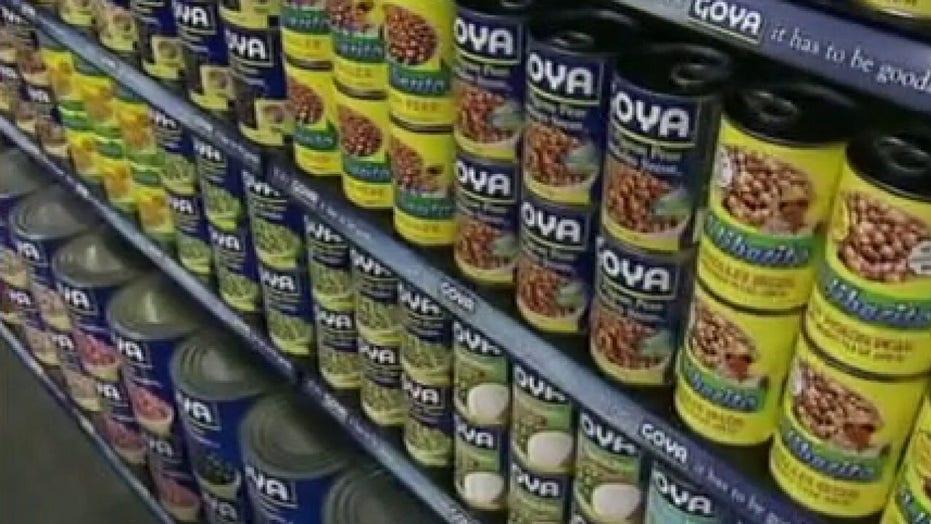 Goya Foods faces boycott after CEO praises President Trump