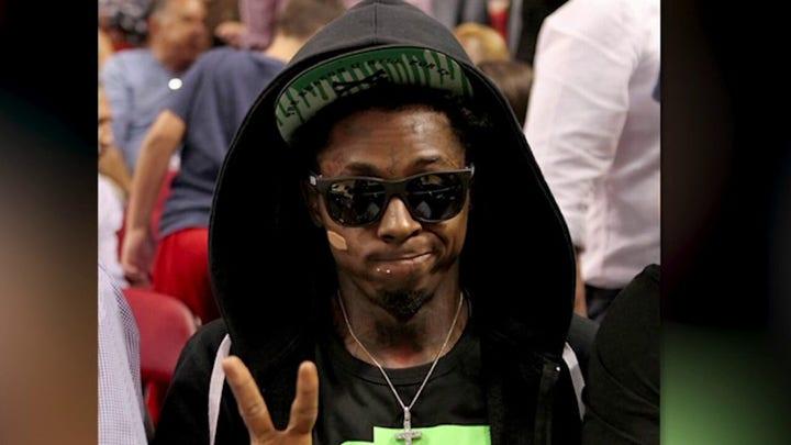Lil Wayne has 'great meeting' with President Trump