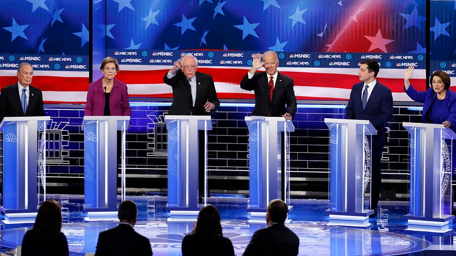 Moderate Democratic candidates wrestle against leftward lurch