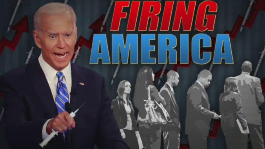 Ingraham: Biden's vaccine mandate will wreck economy, 'haunt businesses for years'