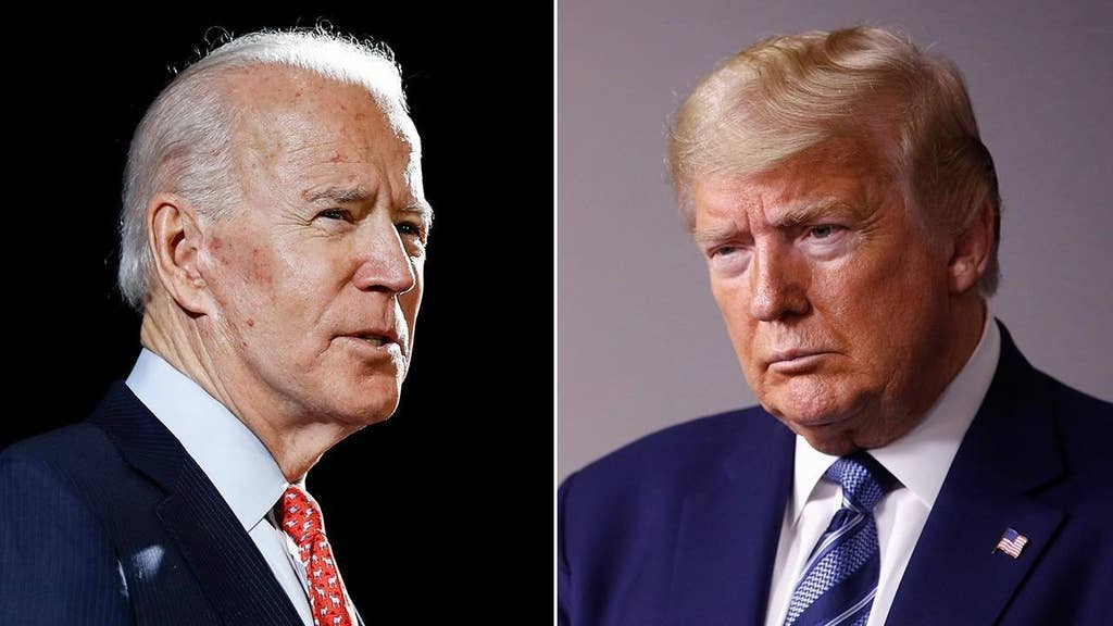 Trump and Biden face off in state Republican hasn't won since Nixon
