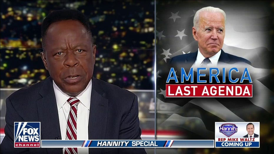 Leo Terrell: Biden's policy failing in 'every corner of the world'
