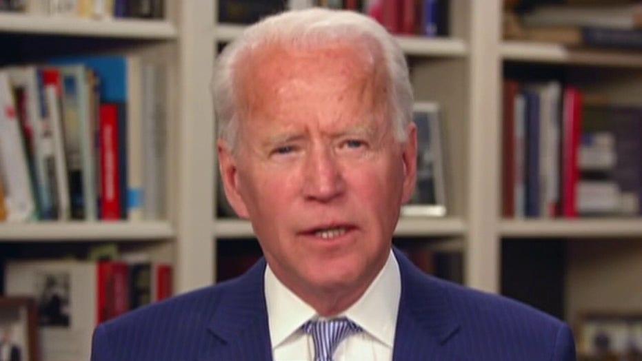 Biden makes push for Sanders' progressive supporters