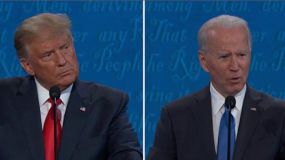 Trump, Biden spar over the veracity of Hunter Biden's laptop, emails