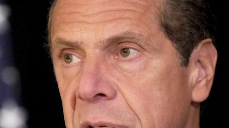NY lawmakers strip Gov. Andrew Cuomo of emergency COVID powers