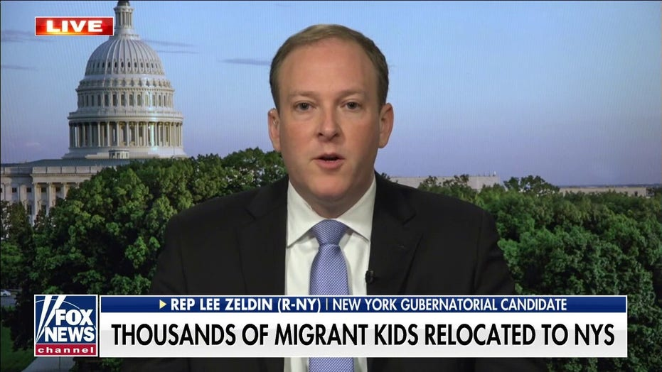 Lee Zeldin on migrants relocating to NY: We need a secure border, answers