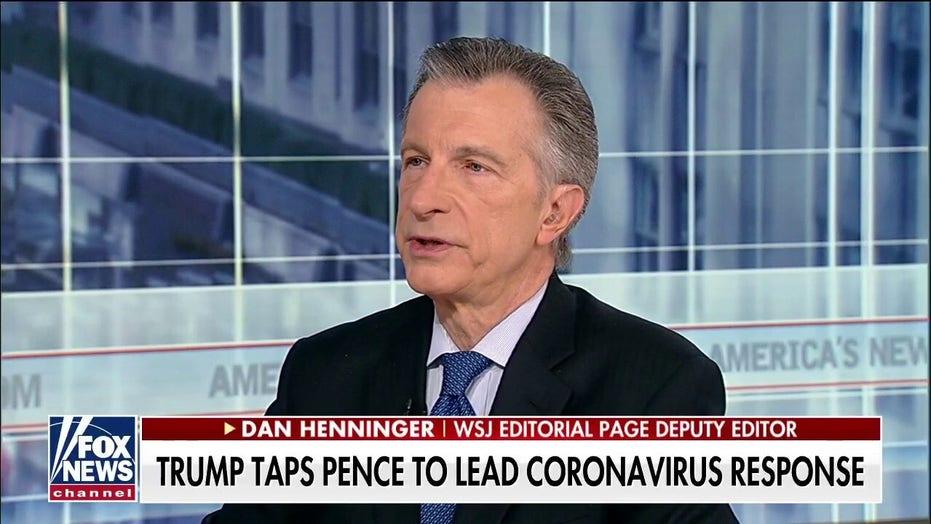 Dan Henninger: President Trump should rise above political squabble on coronavirus