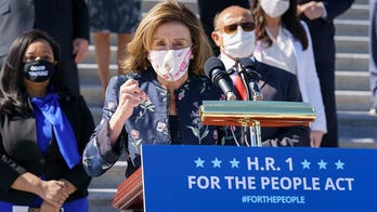 Growing calls for Democrats to use filibuster exception to pass HR 1 voting bill