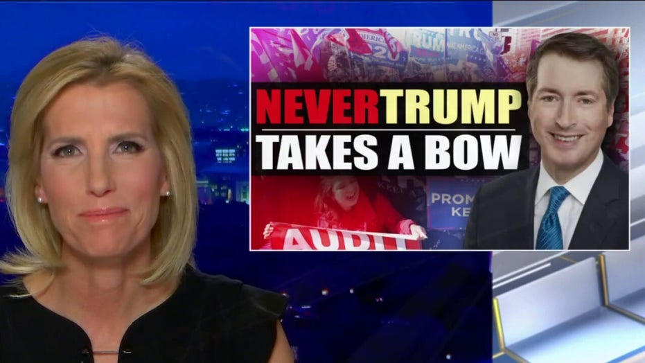 Ingraham: 'Never-Trump' crowd 'taking a bow' as president departs White House