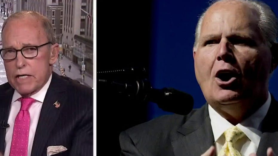 Rush Limbaugh was 'persuader' who 'changed the whole game': Larry Kudlow