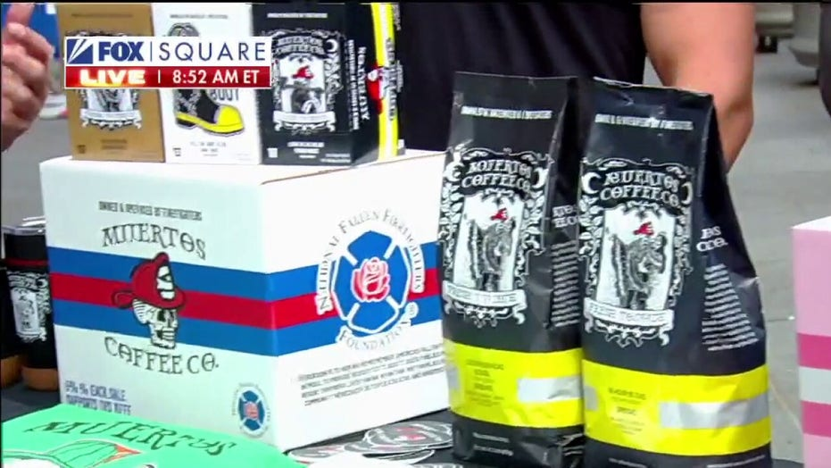Firefighter-owned coffee company pledging $25K to first responders before 9/11