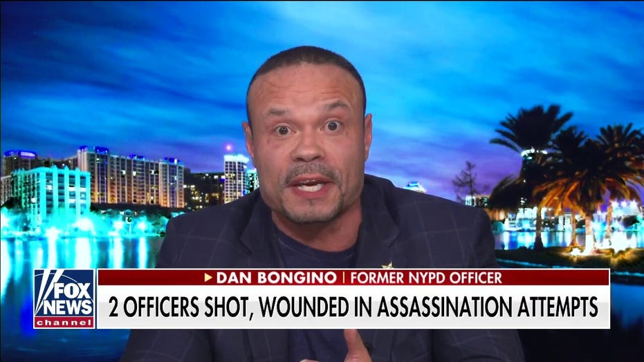 Bongino on attacks on NYPD officers: 'I have never seen anything like this'