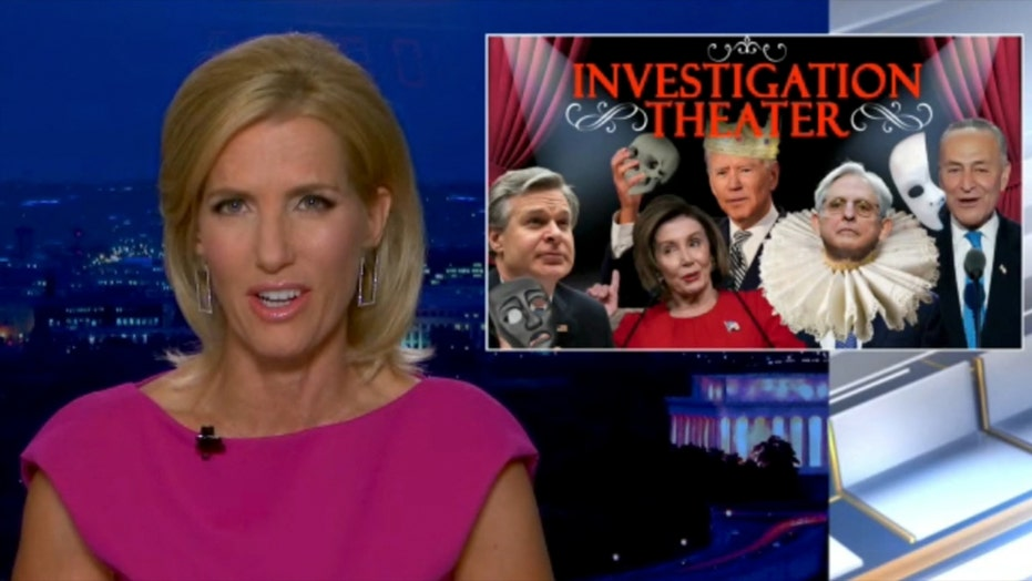 Ingraham: Democrats ignore FBI, push for new political witch hunt as part of 'Investigation Theater'