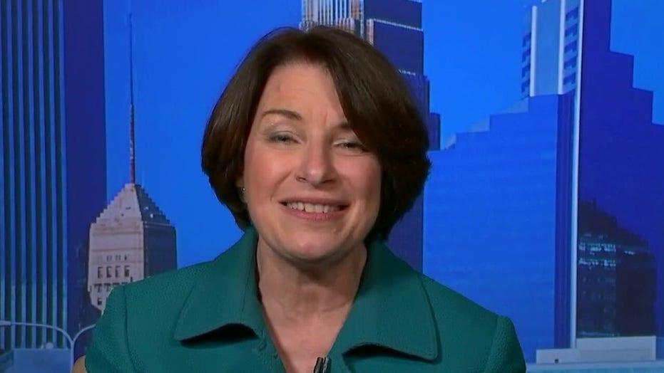 Sen. Amy Klobuchar praises Joe Biden's selection of Kamala Harris as running mate