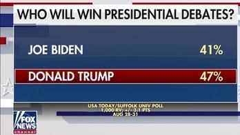 Poll: More Americans think Trump will win debates