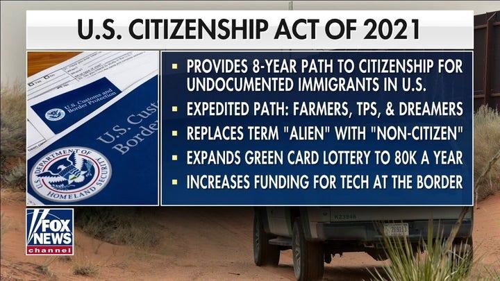 President Joe Biden unveils sweeping immigration reform proposal