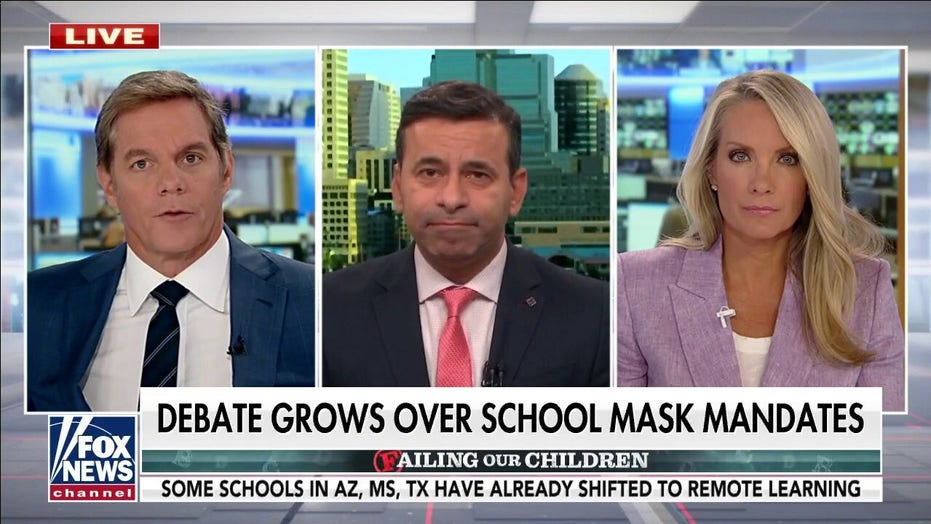 Doctor Makary weighs in on school mask mandate: Kids are 'very inefficient transmitters'