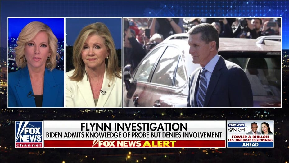 Sen. Marsha Blackburn on the investigation into Michael Flynn's case