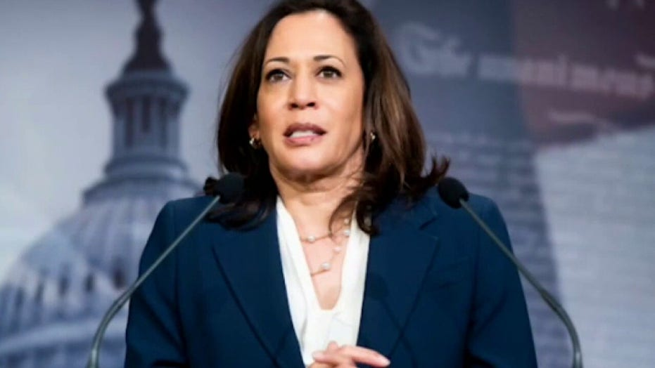 Vogue's Kamala Harris cover sparks social-media frenzy: 'What a mess up'