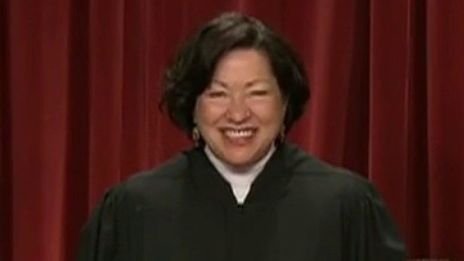 Justice Sotomayor accuses GOP-appointed justices of being biased in favor of Trump