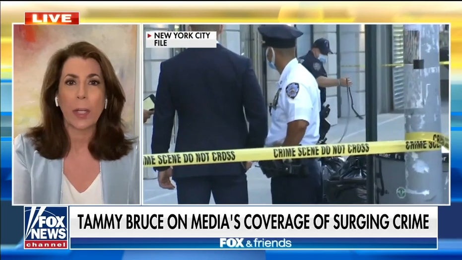 Tammy Bruce rips media for downplaying crime surge in major cities: 'This isn't an accident'