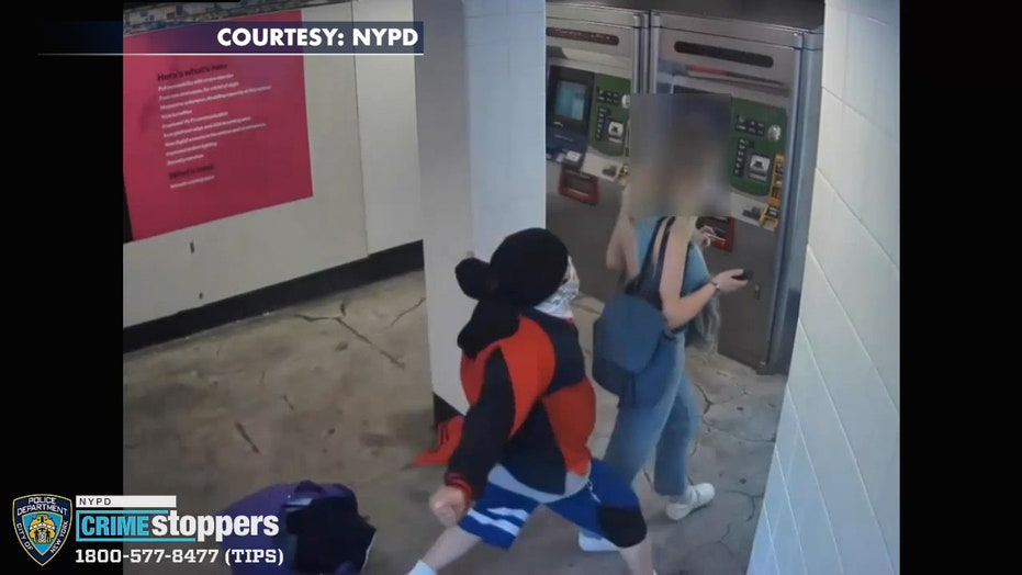 New York City woman violently attacked in subway station, suspect takes bag with laptop, police say