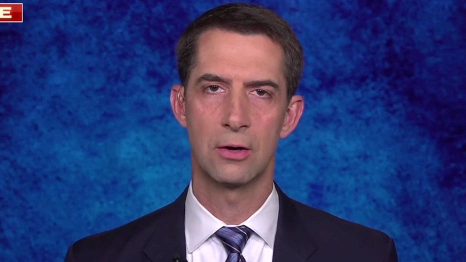 Sen. Cotton: Thousands of Americans trapped by Taliban due to Biden's 'chaotic, ill-planned evacuation'