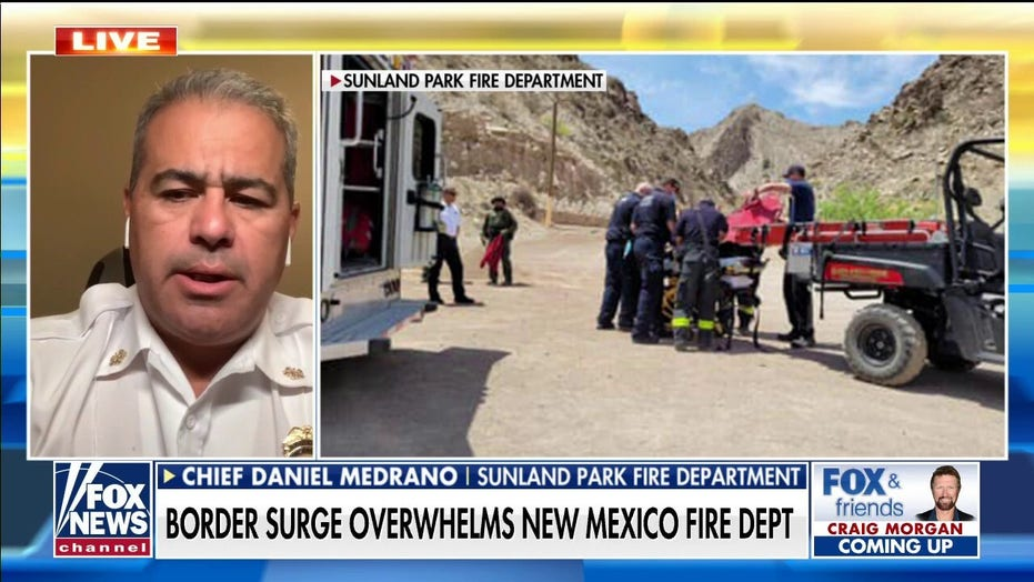 Small-town New Mexico fire department rescuing migrants falling from border wall