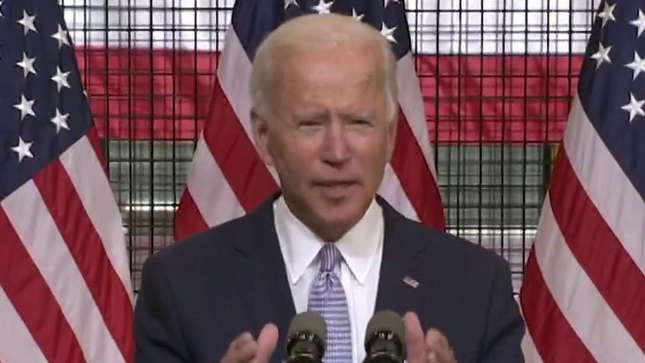 Joe Biden responds as unrest in America violence becomes central issue on campaign trail