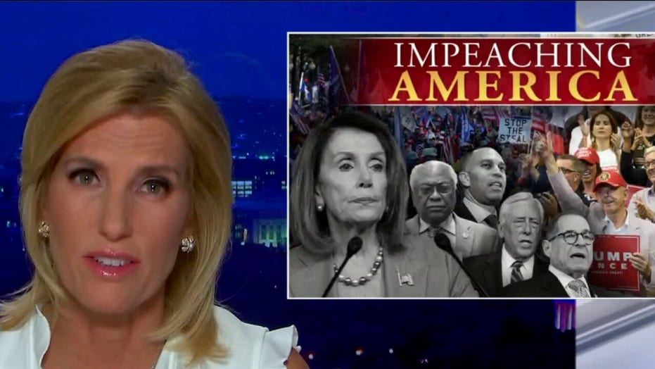 Ingraham: Democrats are 'impeaching America' by obsessing over Trump while COVID rages, economy ails
