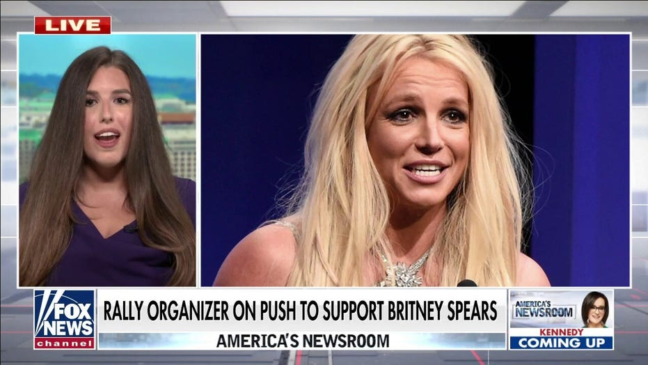 Britney Spears' conservatorship needs to change at 'federal level': rally organizer