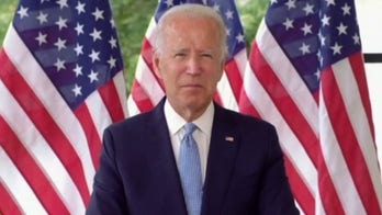 Biden: Troops, their families will never have to question what side I'm on