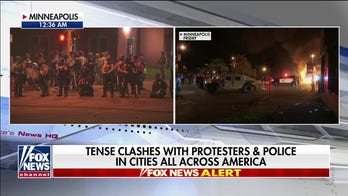 Overwhelming show of force from law enforcement restores measure of order in Minneapolis