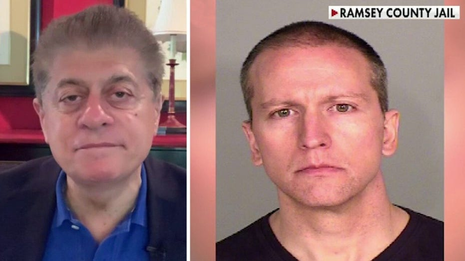 Judge Napolitano: More than enough evidence to charge Chauvin with first-degree murder