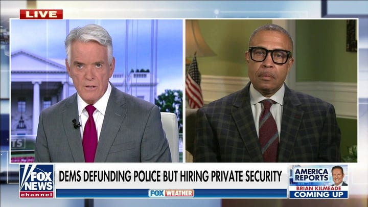 Democrats defunding police but hiring private security