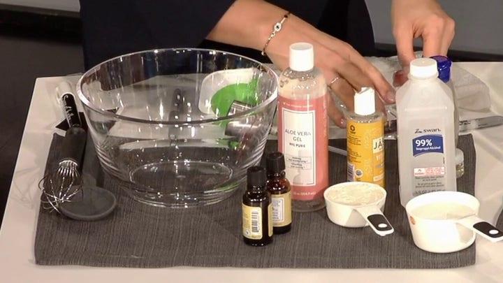 Making your own hand sanitizer amid coronavirus shortage