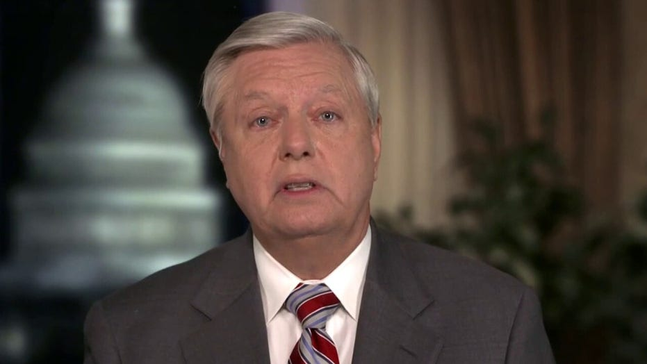 Graham reacts to Democrats pushing Trump Senate impeachment trial