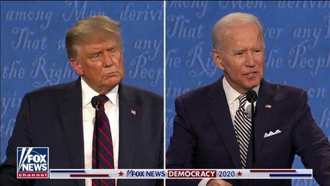 Joe Biden defends son Hunter against corruption allegations