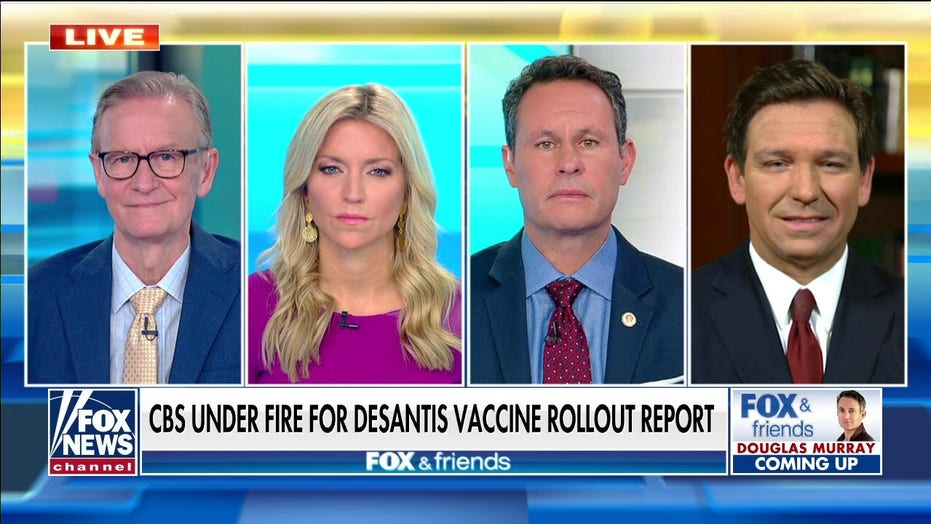 DeSantis: '60 Minutes' showed contempt for viewers, they should admit vaccine story was false