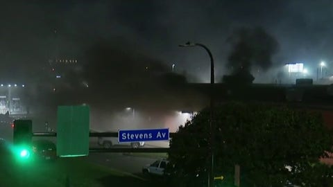 Local post office burns as Minn. riots, looting continue