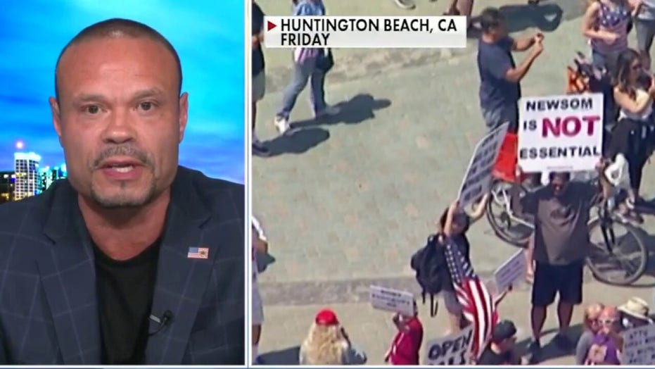 Bongino blasts 'mini tyrants' for keeping America closed: 'Constitution is not optional'