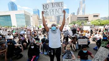 Philadelphia police say George Floyd unrest leaves more than a dozen officers injured