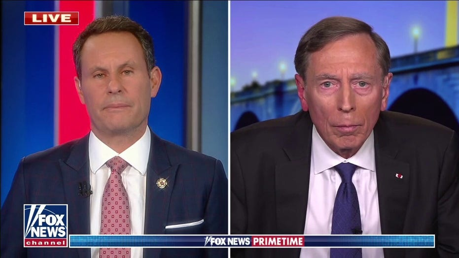 Gen. Petraeus on Biden's planned pull-out from Afghanistan: 'I fear we are going to regret this decision'